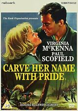 Carve Her Name With Pride - DVD NEW & SEALED - Virginia McKenna