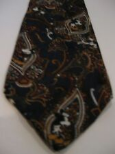 The Disney Store Men's Novelty Necktie Tie Black Floral Mickey the Mouse Smiles