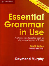 Cambridge ESSENTIAL GRAMMAR IN USE without Answers FOURTH Edition / R Murphy NEW