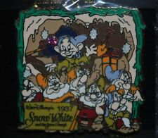 Disney Pin - History of Art - Snow White Dwarfs in Mine 1937 LE 1000 New Sealed