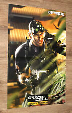 Tom Clancy's Splinter Cell: Pandora Tomorrow / Halo 2 very rare Poster 58x39cm
