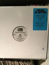 Freaks Of Nature - Booty Call 6 Version White Label Promo NM