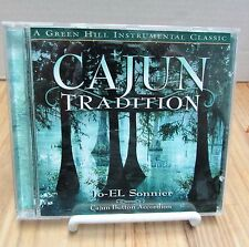 "Green Hill "" CAJUN TRADITION "" Instrumental CD Jo-El Sonnier Button Accordion"