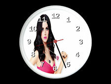Katy Perry Wall Clock Can be Personalised