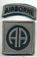 US Army 82nd Airborne ACU Patch W/Tab