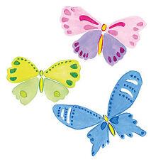 Butterfly Decorations 25 Mariposa Pastels Butterflies Wallies Stickers Decal Art