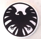 "Avengers/Agents of SHIELD Black & White 3"" Widow Logo Patch-FREE S&H (ASPA-015)"