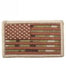 American Flag Morale USA US Army Military Hook & Loop Patch Multicam