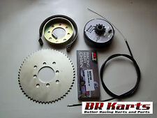 "3/4"" Clutch, Chain # 35 72T Sprocket:,Brake,Drum, Band,Cable, Go Kart, Mini Bike"