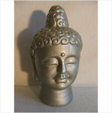 BUDDHA HEAD GARDEN ORNAMENT.LATEX MOULD/MOULDS/MOLDS