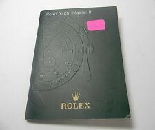 ROLEX OYSTER YATCH-MASTER II  - 2012- BOOK/BOOKLET/MANUAL/BROCHURE IN ITALIAN