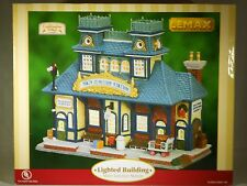 Lemax Lighted House ~ Caddington Collection ~ Main Junction Station  2006 #65396