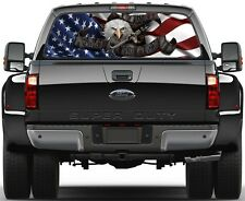 Dont Tread On Me American USA Flag 3 Rear Window Graphic Decal Tint Truck