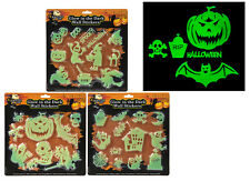 Halloween Glow In The Dark Wall Stickers Spooky Fun Decorations Party Trick