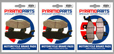 Can-Am 800 Commander 2011 Front & Rear Brake Pads Full Set (3 Pairs)