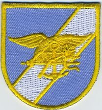 Seal Team 6 Flash Blue/Gold - US Navy Patch - BC Patch Cat. No. K291