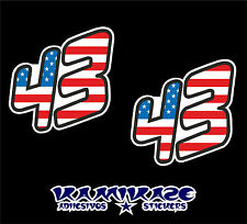 PEGATINA STICKER AUTOCOLLANT ADESIVI AUFKLEBER DECAL  43  KEN BLOCK USA FLAG