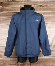 The North Face Hyvent Hidden Hood Men Dark Blue Jacket Coat Size L, Genuine
