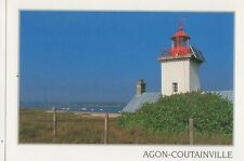Agon Coutainville Postcard France 345a ^