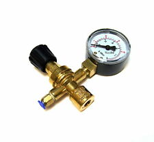 Mig Welder Disposable Gas Bottle Regulator & Gauge