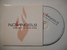 NO ANGELS : DAYLIGHT IN YOUR EYES ♦ CD SINGLE PORT GRATUIT ♦