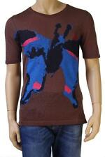 """BNWT Vivienne Westwood Brown """"Butterfly"""" T-Shirt Size L"""