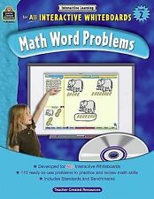 Math Word Problems for all Interactive Whiteboards, Grade 2