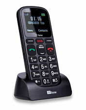 Ttfone comet big button basic simple senior facile à utiliser sans sim téléphone portable