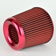 Universal Performance Air Filter Red Finish For Intake Induction Kit (38322)