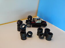 8 pneus URETHANE SIDE CAR  SCALEXTRIC