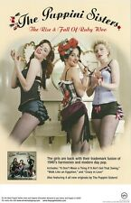 PUPPINI SISTERS promo poster RISE & FALL OF RUBY WOO - 11 x 17 inches