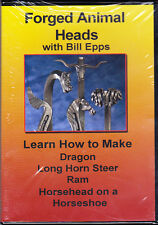 Forged Animal Heads with Bill Epps: How to Make Dragon-Long Horn Steer-Ram-more