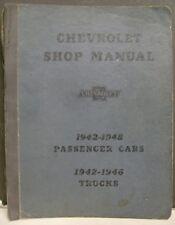 Chevrolet Shop Manual 1942 & 1946 Models - Detroit, MI