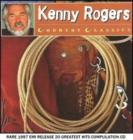 Kenny Rogers - The Very Best 20 Greatest Hits Collection - RARE 1997 CD Country