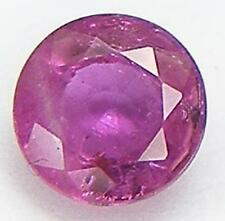 0.51CT. GORGEOUS COLOR ROUND CUT 4.8 MM. NATURAL THAI RUBY