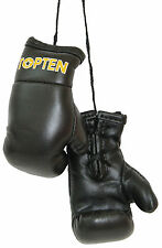 Top Ten- Mini Boxing Gloves. Schwarz. Souvenier. Anhänger. Lifestyle.