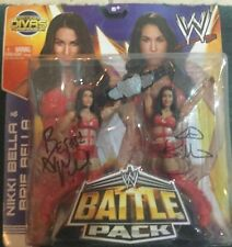 Nikki & Brie Bella Twins WWE Signed Battle Pack Figures PSA/DNA Quick Opinion