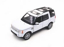 Welly 1/24 Scale Range Rover Land Rover Discovery 4 White Diecast Model 24008