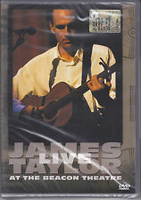 Dvd **JAMES TAYLOR ♦ LIVE AT THE BEACON THEATRE** nuovo 1998