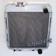 2 ROW 1964-1966 fit for FORD MUSTANG V8 260 289 Aluminum Radiator New AT MT 1965