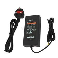 AC Adapter Charger Power Supply Cable Cord for Playstation 2 PS2 Slim Black UK