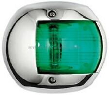 LED Navigation Light Stainless Steel GREEN Starboard Boat Yacht NAVSSGNLED