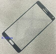 New Black Front Glass Replacement LCD Screen for Samsung Galaxy Note 4 IV N910