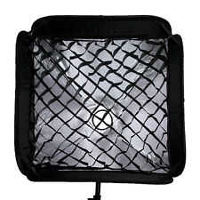"Black Honeycomb Grid Diffuser for 60cmx60cm/24""x24"" Tent Softbox Speedlite Flash"