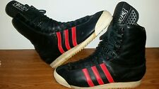 #80' VINTAGE ADIDAS SPECIAL S:10 HIGH HI TOP TRAINERS BOOTS GERMANY ORIGINALS