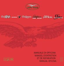 CD MANUALE OFFICINA MOTO GUZZI CALIFORNIA EV-TOURING-ALUMINIUM-TITANIUM-STONE