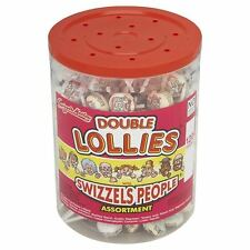 Swizzels Matlow Sweet Candy Double Lollies Tub of 120 Party Fillers or Favours