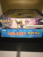 2 Games Pokemon Monopoly Collector's Edition Board Game & Diamond & Pearl Game