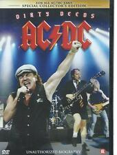 DVD - AC / DC - DIRTY DEEDS  - MUSIC ROCKUMENTARY
