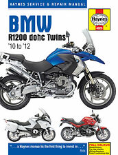 HAYNES 4925 WORKSHOP SERVICE REPAIR MANUAL BMW R1200 DOHC TWINS 2010 - 2012